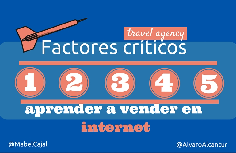 5 Factores críticos para que las agencias de viaje vendan en internet ?