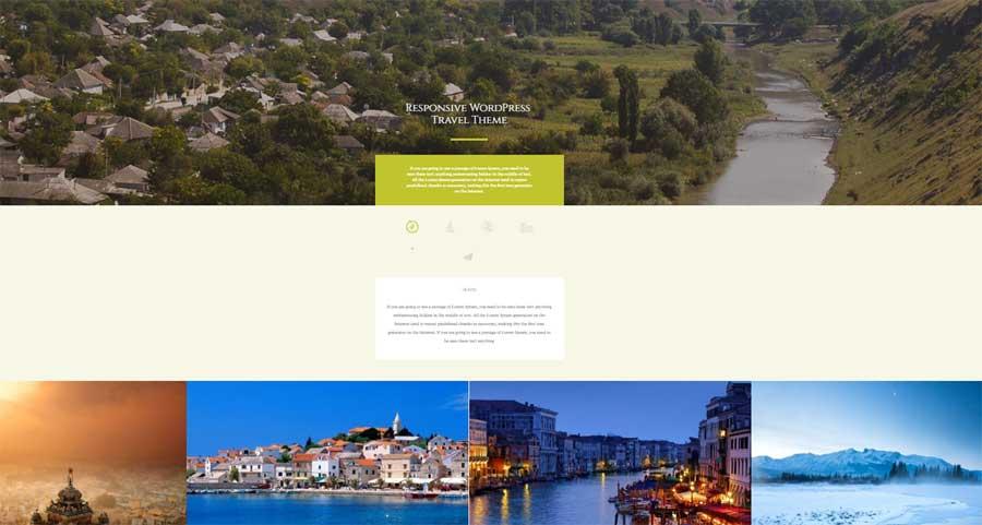 10+1 Wordpress themes con plantillas ALUCINANTES blog de viajes