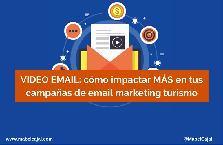 video email campañas email marketing turismo