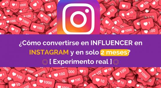 convertirse influencer instagram