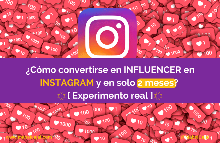convertirse influencer instagram