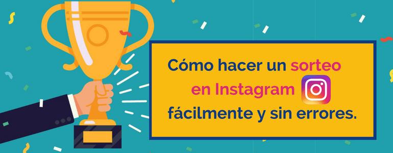 sorteo instagram concurso