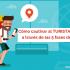 turista digital en fases del viaje