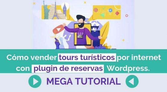 vender experiencias y tours turistico por internet plugin reservas booking