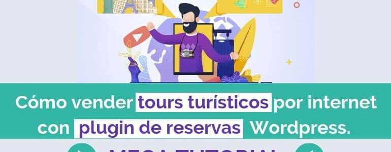 vender experiencias y tours turistico por internet plugin reservas booking