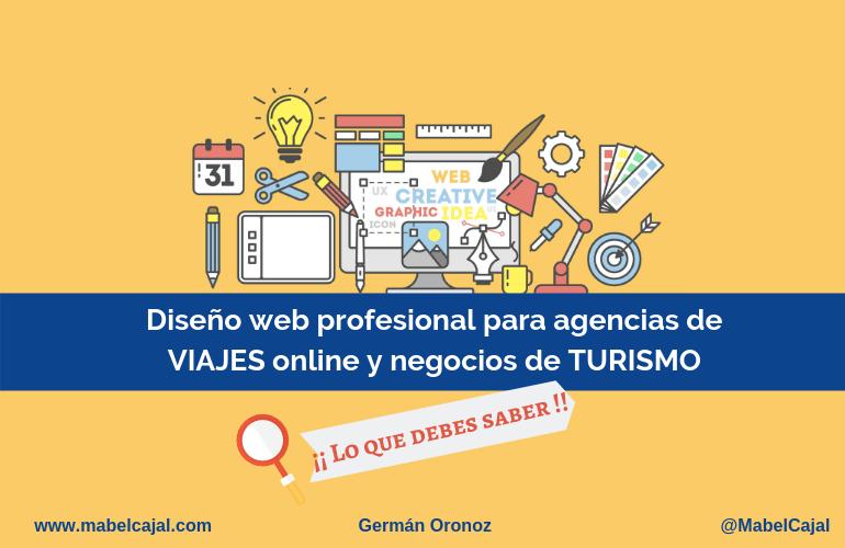 crear pagina web para agencias de viaje online y negocios de turismo
